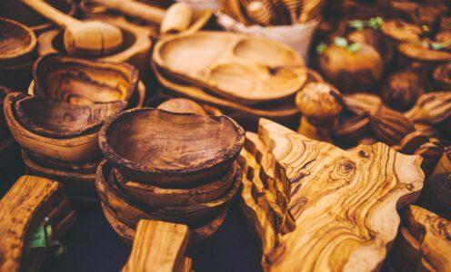 Produkte aus Olivenholz